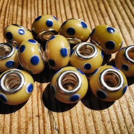 dreadmind dreadlocks shop dreadperlen glas gelb
