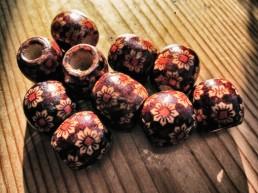 dreadmind dreadlocks shop dreadperlen Holz Kolkata