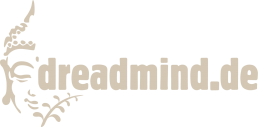 DREADMIND DREADSHOP LOGO Beige
